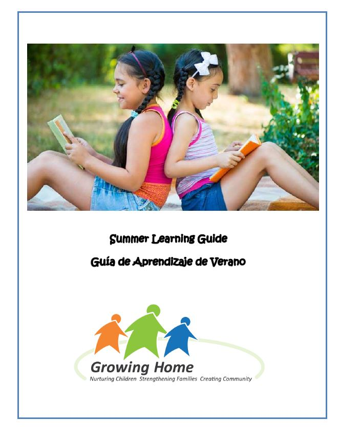Summer Learning Guide 2016