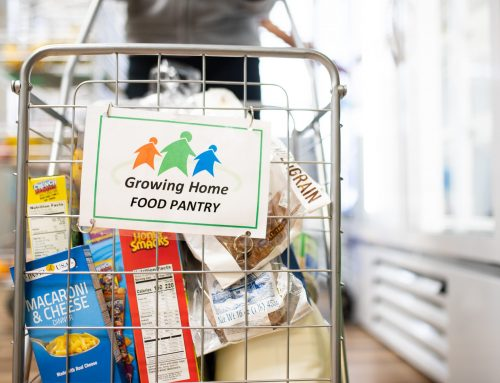 Record Visits to Growing Home Food Pantry in 2019